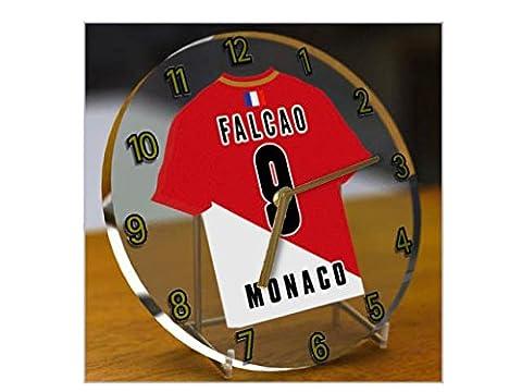 France Ligue 1–French équipe T-shirt Desktop Montres–Nom, n'importe quelle, chaque Football, personnalisés. - AS Monaco FC