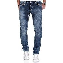 Merish 5-Pocket Denim Jeans Herren Slim Kontrastnaht Modell J1710 2536024ceb