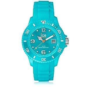 ICE-Watch - Forever - Turquoise - Small 1717 - Montre Quartz - Affichage Analogique - Bracelet Silicone Turquoise et Cadran Turquoise - Mixte