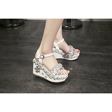 LvYuan sandali primavera scarpe club estivo fustigano partito&serata di mandorla bianca almond