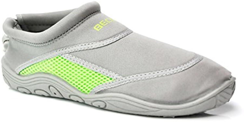 Beco Surf 9217-43-118 - Escarpines, talla 43, color gris/verde