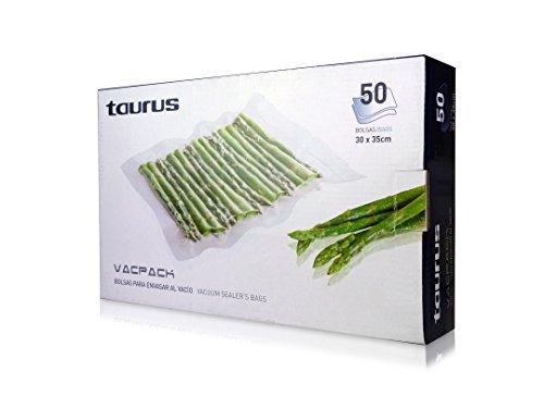 Taurus 999.185 - Set de bolsas para Vacpack, 30 x 35 cm