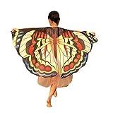 LoveLeiter Kinder Tanz Schmetterling Mantel Umhang Drucken Flügel Schal Poncho Kostüm Zubehör Schön Babybekleidung für Kinder, Buchstabedruck-Umhang Halloweens Kinder
