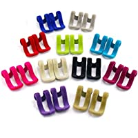 Joyoldelf - Ganchos para colgar en perchas, 22 unidades, ahorro de espacio, mini perchas antideslizantes para ropa, organizador de armario