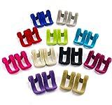 Joyoldelf 22 Stück Kleiderbügel - rutschfeste Mini Beflockung Kleider Rack Haken – perfekt zu organisieren Schrank & Platzsparend