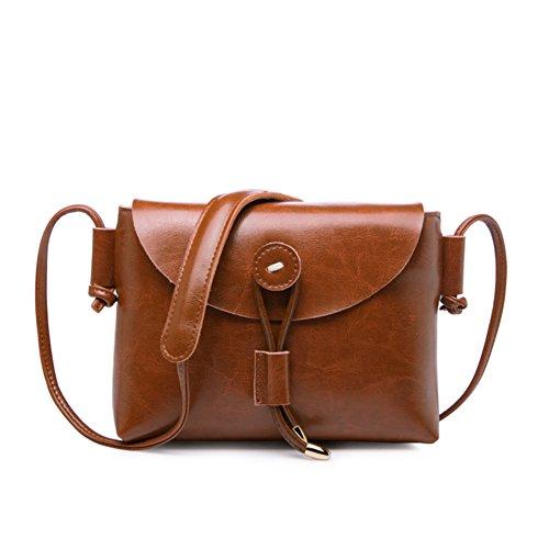 One-spalla piccola borsa/semplice piccoli quadrati pacchetti/retrò-diagonale pacchetto-H F