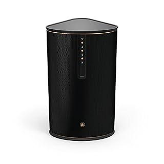 Hama Multiroom-Lautsprecher für Internetradio und kabelloses Musik-Streaming IR80MBT (Bluetooth, Spotify Connect, 30W RMS, WLAN Radio, Fernbedienung, gratis UNDOK App-Steuerung) Musik Box schwarz