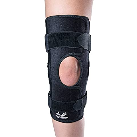BioSkin Small Hinged Front Closure Knee Support