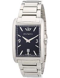 Philip Watch Herren-Armbanduhr TRAFALGAR Analog Quarz Edelstahl R8253174001