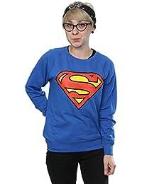 DC Comics mujer Superman Logo Camisa de entrenamiento