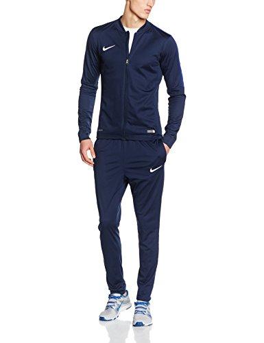Nike Academy16 Knt Tracksuit 2-Tuta e pantaloni sportivi Uomo, Multicolore (Nero/Blu/Bianco), L