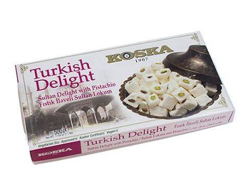Türkischer Genuss Sultan mit Pistazie 500 g
