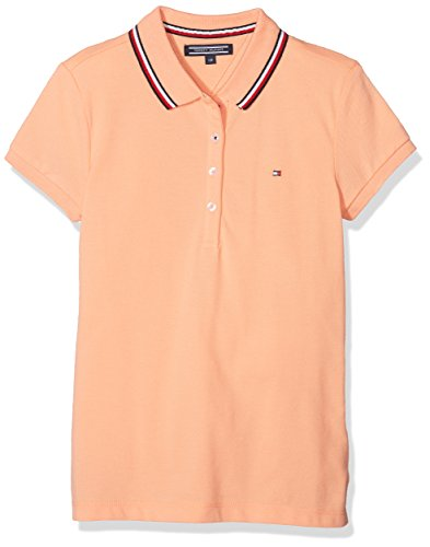 Tommy Hilfiger Girl's AME Sweet S/S Polo Shirt