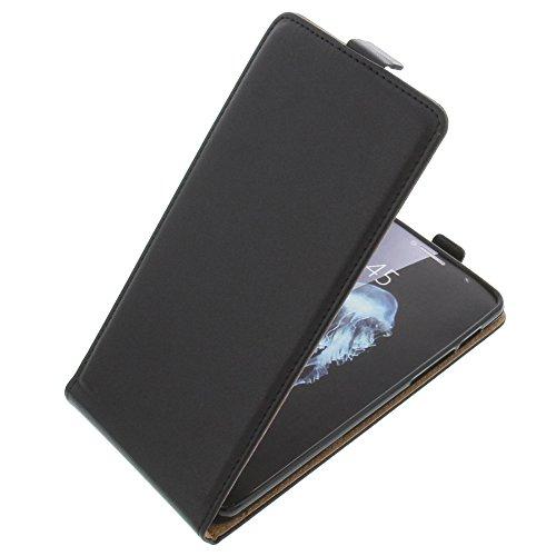 foto-kontor Tasche für Alcatel Flash Plus 2 Smartphone Flipstyle Schutz Hülle schwarz