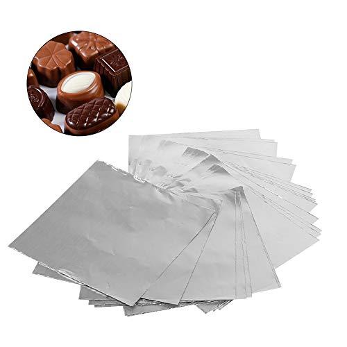Folienverpackungen 100Pcs / Lot, quadratische Süßigkeit-Bonbon-Schokoladen-Lutschbonbon-Verpackungs-Süßigkeiten 3