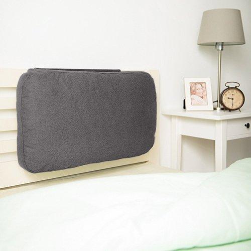 Zinn Wolle Effekt gewichtet Sofa kissen Rückenlehne mit Schaum Krümel Füllung