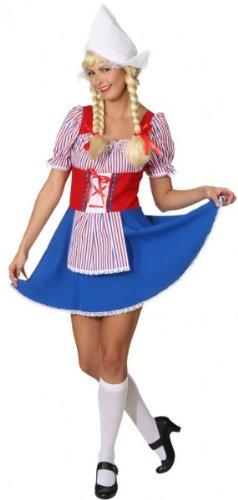 Kostüm Holländerin - Holländerin Kostüm für Frauen - XL