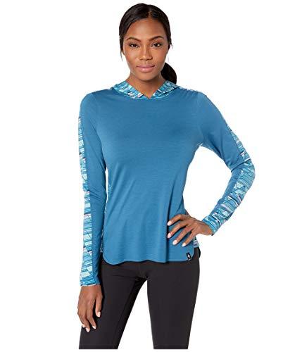 Smart Wool Women's Merino 150 Hoody Light Marlin Blue M