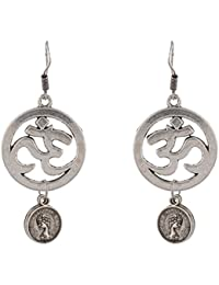Keeda Stores Silver Brass Dangle & Drop Earrings For Women & Girl (42)