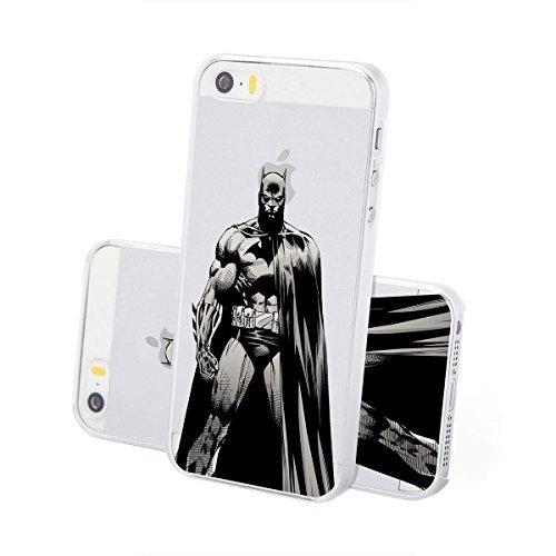 "finoo   iPhone 7 Hard Case Handy-Hülle ""Batman"" Motiv   dünne stoßfeste Schutz-Cover Tasche mit lizensiertem Muster   Premium Case für Dein Iphone  Batman closeup Batman Full"