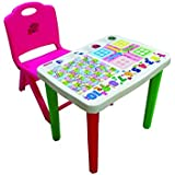 Kids Study Table And Chair Set - Pink