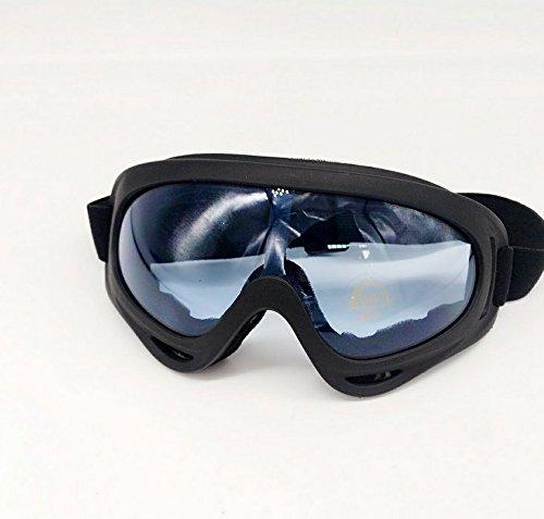 Prime-ski-schutzbrillen (PRIMI winddicht UV400Sport Sicherheit Schutz Glas Schnee Ski Fahrrad POWERSPORTS Motorrad Goggles (blau))