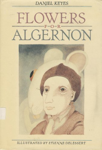Book cover for Flowers for Algernon