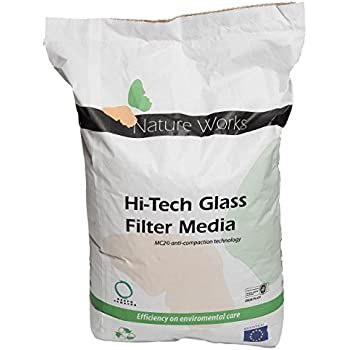 Nature Works Hi-Tech Filterglas (20 kg) für Pool