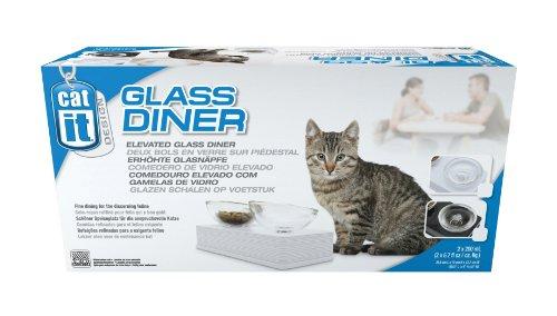 Catit Design Glass Diner- moderner erhöhter Glasnapf - 2