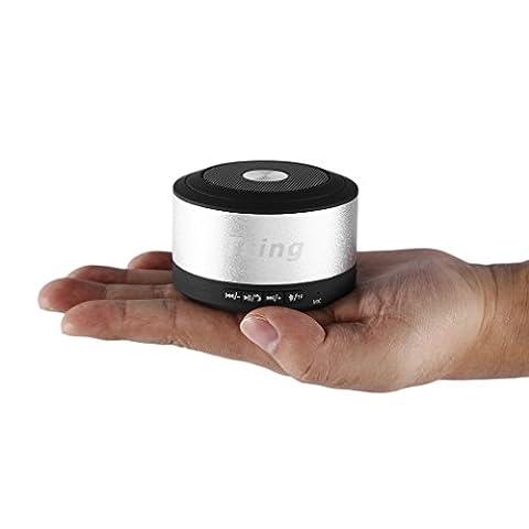 Mini Enceinte Bluetooth OUTAD Haut-parleur Portable étanche Antichoc sans fil Bluetooth Stéréo Compatible avec iPhone 7 6S 6 Plus 6, Nokia, HTC, Blackberry, Galaxy, LG, Nexus, Téléphones Portables, Laptops,
