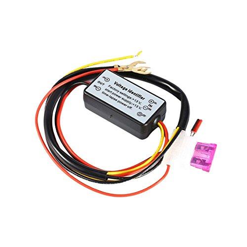 Yaoaoden Tagfahrlicht LED-Lichtregler LED-Autolichtverzögerungs-Steuerkabelbaum Smart Intelligent Controller Time Delay Cable Multicolor