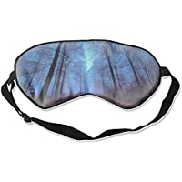 Forest City Mountain Ocean Moon Sunset Sunlight Tree Herbst Winter Eyeshade mit verstellbarem Riemen für Damen... preisvergleich bei billige-tabletten.eu