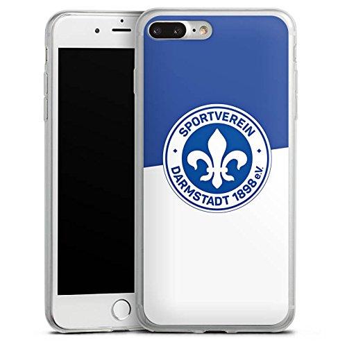 Apple iPhone X Slim Case Silikon Hülle Schutzhülle Fussball Darmstadt Fußball Silikon Slim Case transparent