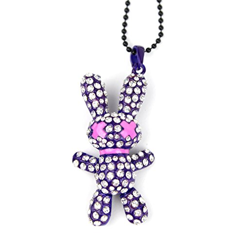 Poizen Industries - Collana Coniglio - Bunny Necklace lilla