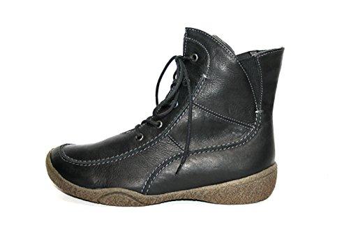 Theresia Muck Houston 66684-280-000 Damen Halbstiefel & Stiefeletten Weite H Schwarz (schwarz 000)