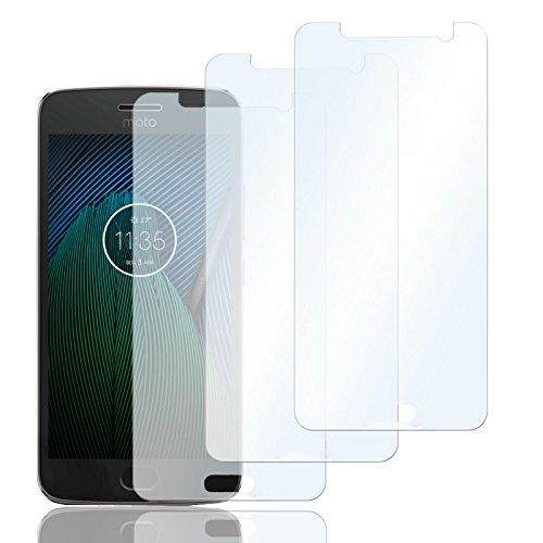 3x Schutzfolien für Motorola Nexus 6| Folie Bildschirmschutz | Selbstklebende Bildschirmfolie klar | Handy Folie rückstandlos entfernbar | dünne Bildschirmschutzfolie Crystal clear Film Screen Protector