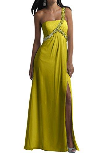 Toscana lncantevole ONE-Shoulder Chiffon sposa abiti da sera per sposa giovane dal un'ampia Party ball vestimento Gruen33