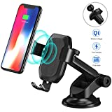 HiGoing Fast Wireless Charger, 10W Qi Ladegerät für iPhone XS/XS Max/XR / X / 8 Plus / 8,...