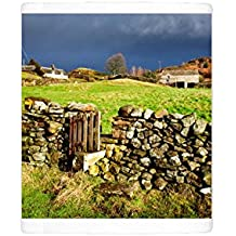 Photo Mug of Stile in a dry stone wall at Storiths, North Yorkshire, Yorkshire, England