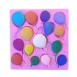 CanVivi Muffinform Silikon Ballon Backform Tortenform Kuchenform Pralinenform Bonbon Form