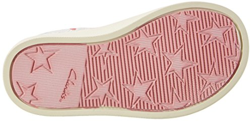 Clarks Halcy Hati Fst, Baby-Girls Walking Baby Shoes, Beige (Cotton Combi), 4 Child UK F (20 EU)
