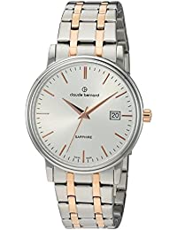 Claude Bernard Swiss Quartz and Stainless Steel Dress Watch, Color Two Tone (Model: 53007 357RM AIR)