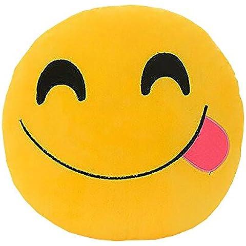 Me marcas almohada manta decorativa de peluche Emoji Smiley Cojín Decoración para el hogar para Sofá Sofá Silla juguete emocional cara sonriente muñeca 1pcs