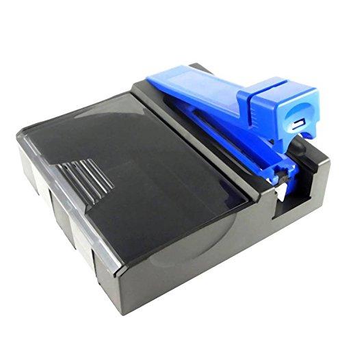 Starlet24® 2in1 Zigarettenstopfmaschine Zigarettenstopfer Stopfmaschine für Zigarettenhülsen mit integriertem Zigarettenbox