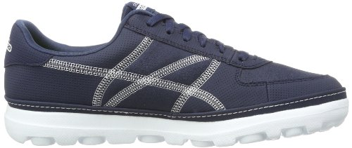 Skechers On-the-gocourt, Sneakers Basses Homme Bleu (nvw)