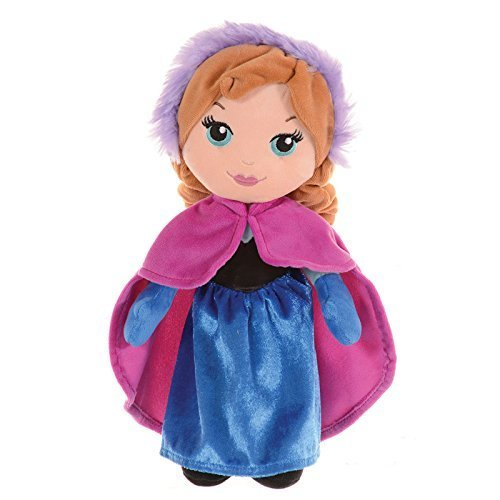 DISNEY FROZEN ANNA CUTE SOFT PLUSH 8 DOLL KIDS OFFICIAL by Disney