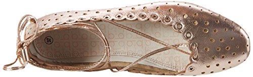 Bugatti J06791l, Ballerine Donna Oro (Rosegold 355)