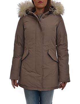 CANADIAN Parka donna con cappuccio e pelliccia sintetica, FUNDY BAY SHEEPSKIN