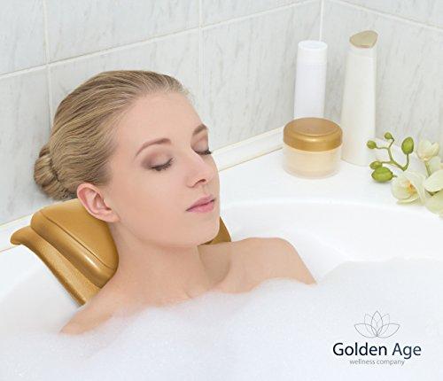 Oreiller de bain baignoire ou jacuzzi