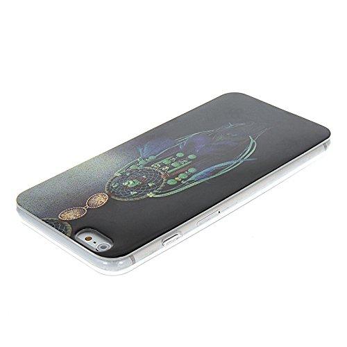 MOONCASE Modèle Mignon TPU Silicone Housse Coque Etui Gel Case Cover Pour Apple iPhone 6 Plus A16216